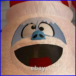 10.5 Ft COLOSSAL BUMBLE FROM RUDOLPH Airblown Christmas Inflatable PLUSH FUR