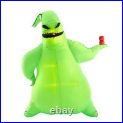 10.5 GIANT OOGIE BOOGIE WITH DICE Airblown Lighted Yard Inflatable