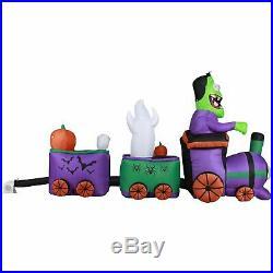 10 ft Long Runaway Graveyard Train Halloween Inflatable