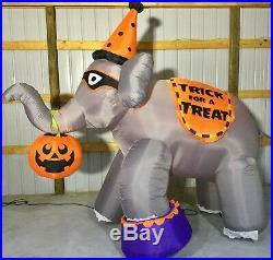 10ft Gemmy Airblown Inflatable Prototype Halloween Elephant #70966