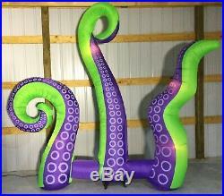 10ft Gemmy Airblown Inflatable Prototype Halloween Octopus Tentacles #73947