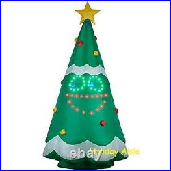 11 FT GIANT SINGING LIGHTSYNC CHRISTMAS TREE Airblown Lighted Yard Inflatable