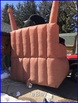 12 FOOT GRIM REAPER INFLATABLE WITH SIGH, excellant used