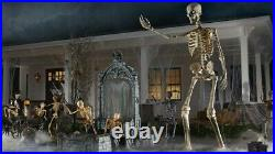 12 Foot Skeleton Halloween Decoration Sold Out NIB