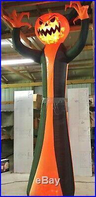 12ft Gemmy Airblown Inflatable Prototype Halloween Pumpkin Reaper #73377