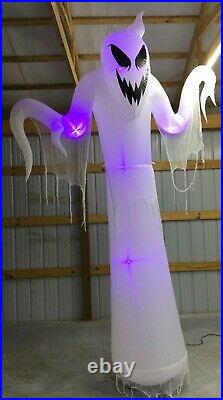 12ft Gemmy Airblown Inflatable Prototype Halloween ShortCircuit Ghost #222897