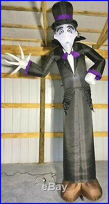 12ft Gemmy Airblown Inflatable Prototype Halloween Shortcircuit Mr Creepy #73790