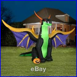 13.5 FT DRAGON Halloween Airblown Lighted Yard Inflatable