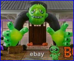 13 FT COLOSSAL MONSTER ARCHWAY Halloween Airblown Yard Inflatable