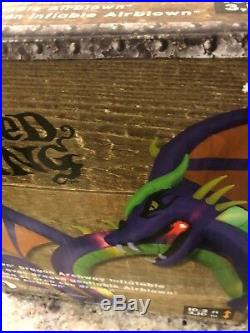 14 FT HUGE DRAGON ARCHWAY Lighted Yard Airblown Inflatable Halloween