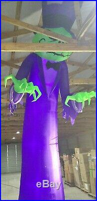 16ft Gemmy Airblown Inflatable Prototype Halloween ShortCircuit Reaper #74901