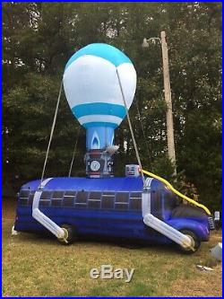 17.5' Battle Bus Fortnite Halloween Airblown Inflatable PROP Figure Replica Game