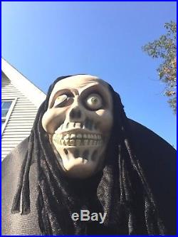 2006 Air Inflatable Rare Grim Reaper 7' Rubber Face & Hands