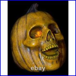 2020 Giant Halloween Pumpkin Skeleton Flick light Head Prop Yard Decor PRE ORDER