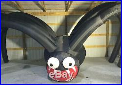 25ft Gemmy Airblown Inflatable Prototype Halloween Colossal Spider #220516