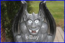 28 Empire Gargoyle Blowmold Halloween Light Up Outdoor Plastic Yard Lawn Vtg