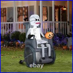 5.5' DR FINKELSTEIN NIGHTMARE BEFORE CHRISTMAS Airblown Inflatable COMING SOON