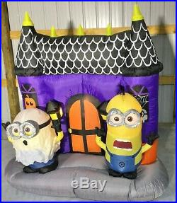 5.5ft Gemmy Airblown Inflatable Prototype Halloween Minions Haunted House #73744