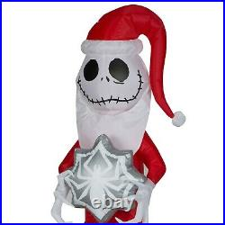 5.5ft Jack Skellington Christmas Inflatable Decorations Outdoor Lighted Yard