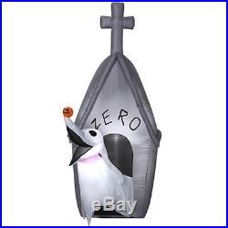 5' Zero Airblown Inflatable Lighted Nightmare Before Outdoor Halloween Decoratio
