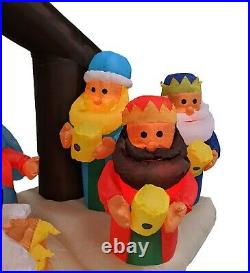 6 Foot Long Christmas Inflatable Nativity Scene Blowup Air Blown Yard Decoration