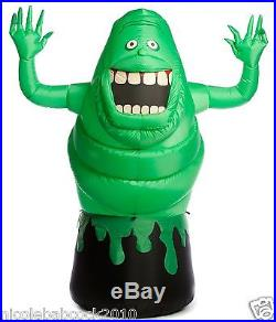 6 Ft Halloween Ghostbuster Green Slimer Airblown Inflatable Lighted Yard Decor