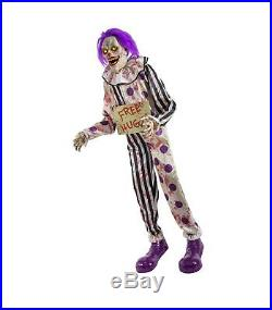 6 Ft Hugz The Clown Animatronics Decorations