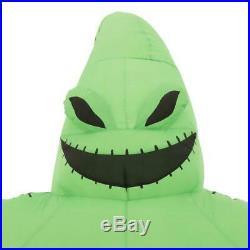 6 Ft OOGIE BOOGIE Halloween Lighted Yard Inflatable NIGHTMARE BEFORE CHRISTMAS