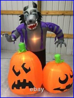 6ft Gemmy Airblown Inflatable Prototype Halloween Werewolf #58000