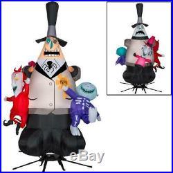 7.5' Mayor Of Halloween Town Animated Halloween Inflatable New