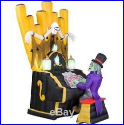 7 Ft ZOMBIE ORGAN PLAYER Airblown Lighted Yard Inflatable PRE-ORDER