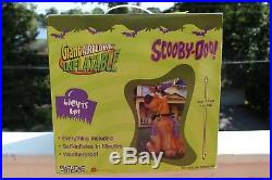 7' Scooby Doo Gemmy Lighted Airblown Inflatable Haunted Halloween Warlock NEW
