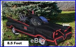 8.5 Ft Marvel Comics Batmobile Lighted Halloween Airblown Inflatable Yard Decor