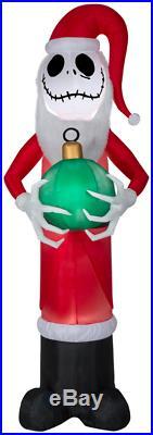 8 ft Jack Skellington Nightmare Before Christmas Inflatable Yard Outdoor Decor