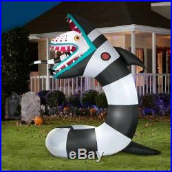 9.5 Ft ANIMATED SANDWORM FROM BEETLEJUICE Airblown Yard Inflatable Pre-Order