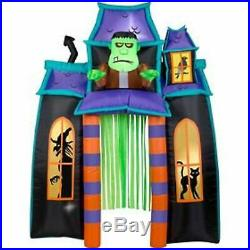 9' Animated Frankenstein Monster Haunted House Archway Inflatable Yard Decor