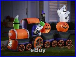 9' Inflatable Halloween Ghost Train