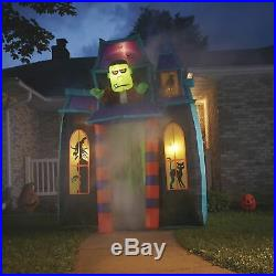 9ft. Airblown Archway Monster Haunted House Halloween Inflatable