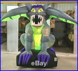 9ft Gemmy Airblown Inflatable Prototype Halloween Animated Gargoyle #70778