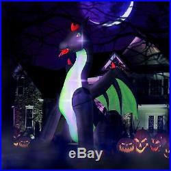9ft Inflatable Halloween Dragon