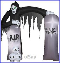 Airblown Archway Reaper Prop Gemmy Inflatable Yard Halloween RIP Self Inflates