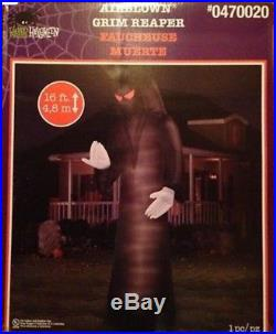 Airblown Colossal Grim Reaper Huge 16ft Gemmy Inflatable Halloween