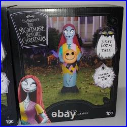 Airblown Inflatable Halloween Sally Jack Skellington Nightmare Before Christmas