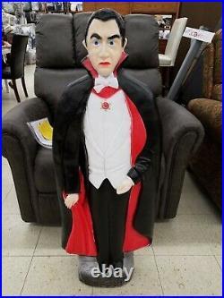 Bela Lugosi Dracula Vampire Halloween Blow Mold Don Featherstone 42 Tall USA