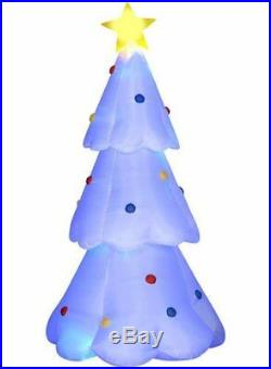 Brand NEW! Airblown Inflatable Animated Led Color Changing Tree 11ft Gemmy
