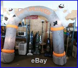 Chrisha Creations 10Ft Air-O-Motion Inflatable Halloween Archway HAPPY HALLOWEN