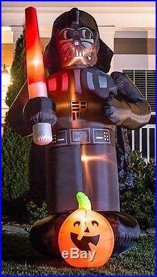 Darth Vader Gemmy Star Wars Halloween Inflatable 9' Tall Bnib