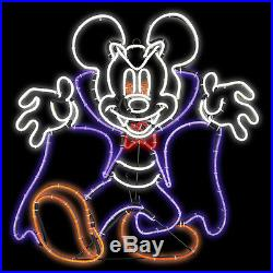Disney Mickey & Friends Lighted Vampire Sculpture Constant White Led Lights