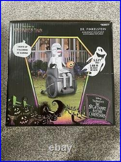 Disney Nightmare Before Christmas Dr Finkelstein 5.5 Ft Inflatable Airblown Fast