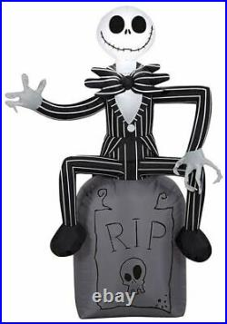 Disney Nightmare Before Christmas Halloween Inflatable EXCLUSIVE Oogie Zero Jack